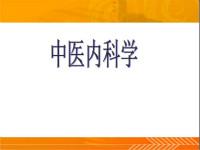 中医内科学ppt(共22套打包)